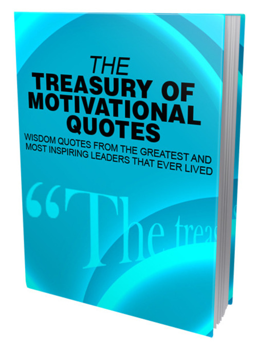Pay for The Treasury of Motivational Quotes