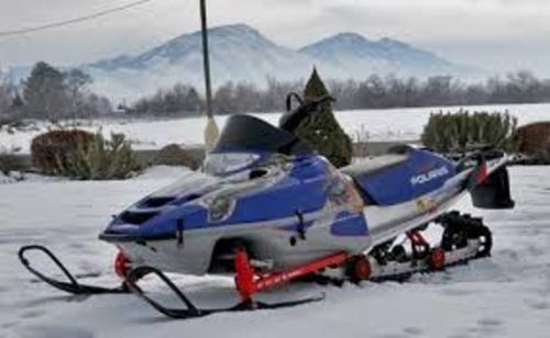 Polaris Snowmobile 2001-2002 Deep Snow RMK SKS Repair Manual