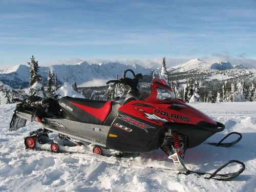 Polaris Snowmobile 2005 Deep Snow Rmk Repair Service