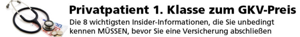 Thumbnail Hörbuch - Privatpatient 1. Klasse zum GKV-Preis 74 Minuten