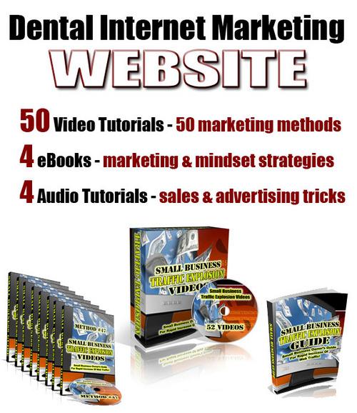 Pay for Dental Internet Marketing Web Site