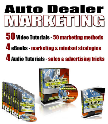 Pay for Auto Dealer Marketing