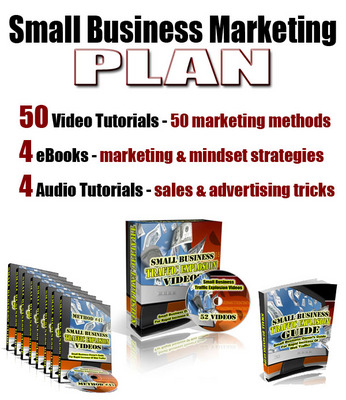 Pay for Small Business Marketing Plan