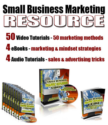 Pay for Small Business Marketing Resource