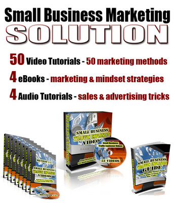 Pay for Small Business Marketing Solution