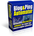 Thumbnail Blog And Ping Automator with Master Resale Rights