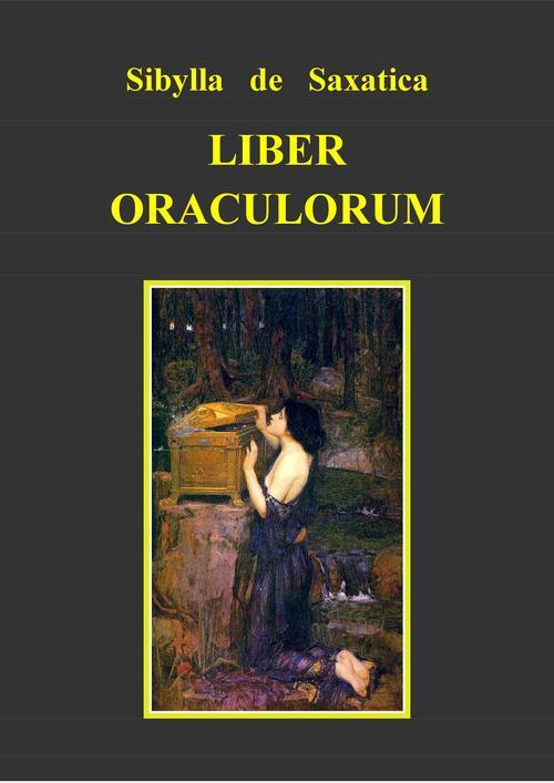 Pay for Liber oraculorum - Sibylla de Saxatica