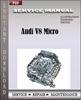 Thumbnail Audi V8 Micro Factory Service Manual