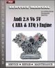Thumbnail Audi 2.8 V6 5V (AHA & ATQ) Engine Service Manual Workshop