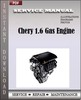 Thumbnail Chery 1.6 Gas Engine Service Manual Workshop