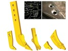 Thumbnail Caterpillar Ripper Shanks Service Parts Catalog Manual PDF