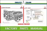 Thumbnail Deutz Fahr DX 90 Parts Manual and Tractor Service PDF