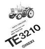 Thumbnail Iseki TE3210 Parts Manual Catalog