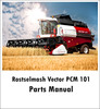Thumbnail Rostselmash Vector PCM 101 Parts Manual