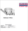 Thumbnail Taarup Stationary 14 Spare Parts Manual for Feeding