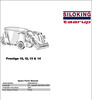 Thumbnail Taarup Prestige 10 12 13 14 Spare Parts Manual for Feeding