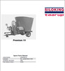 Thumbnail Taarup Premium 13 Spare Parts Manual for Feeding