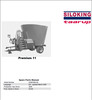 Thumbnail Taarup Premium 11 Spare Parts Manual for Feeding