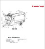 Thumbnail Taarup KD856 Spare Parts Manual for Feeding