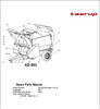 Thumbnail Taarup KD853 Spare Parts Manual for Feeding