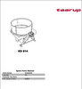 Thumbnail Taarup KD814 Spare Parts Manual for Feeding
