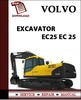 Thumbnail Volvo Excavator EC25 Parts Catalog Manual