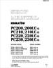 Thumbnail Komatsu PC200 200LC-6 Service Manual for Hyper GX