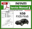 Thumbnail S50 Infiniti FX35 FX45 EBRM Factory Service Manual