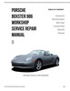 Thumbnail Porsche 986 Boxster Workshop Manuals