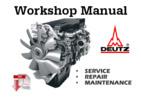 Thumbnail Deutz 2011 Engines Service Manual for Repair and Maintenance