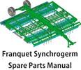 Thumbnail Franquet Synchrogerm Spare Parts Manual