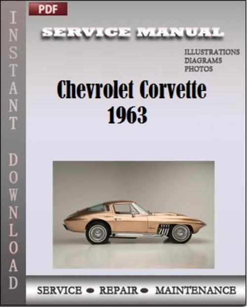 chevrolet corvette 1963 assembly manual service repair download m rh tradebit com Corvette 1965 Corvette 1965
