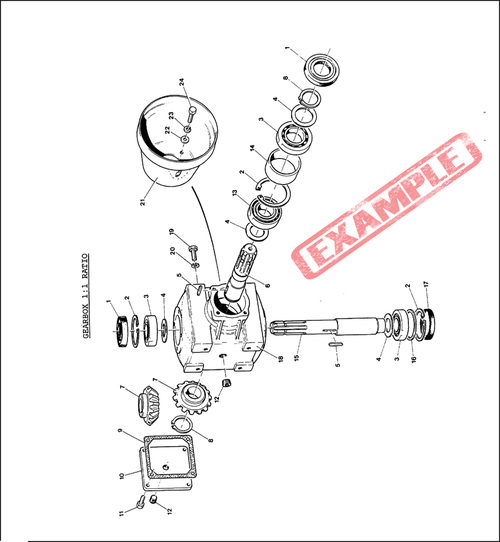 Pay for Taarup KD806 KD807 Spare Parts Manual for Feeding