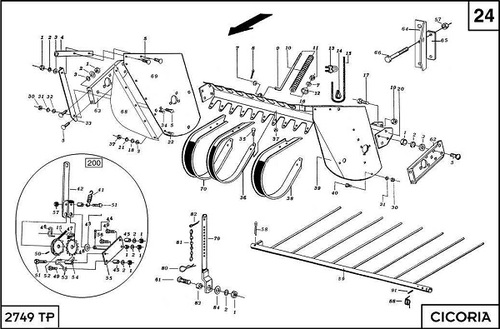 Pay for Cicoria 2749S3 Spare Parts Catalogue Manual