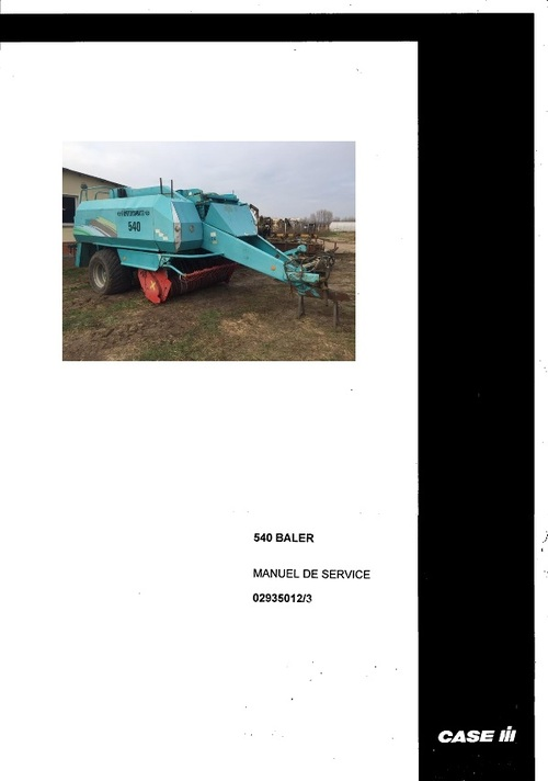Pay for Fortschritt 540 Spare Parts Catalog Manual 1995-1996