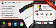 Thumbnail Ultimateshop Pro2 - Prestashop 1.5 Template