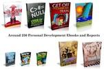 Thumbnail New 250 Personal Developments Ebooks And Reports MRR PLR