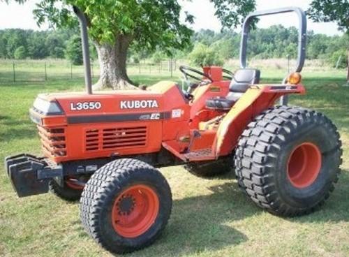 kubota l2650 l2950 l3450 l3650 tractor operator manual download rh tradebit com Kubota L3450DT Specs Kubota 3450 History