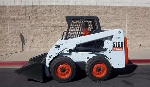 Bobcat S150, S160 Skid Steer Loader Service Repair Workshop Manual DOWNLOAD ( S/N 529711001 & Above, S/N 529811001 & Above, S/N A8M011001-A8M059999, S/N 529911001-529959999, S/N 530011001-53005999