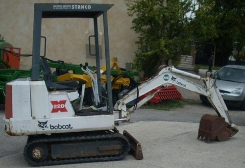 Bobcat 220 Mini Excavator Service Repair Manual DOWNLOAD