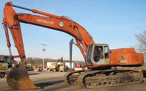 Hitachi EX550-5 EX550LC-5 EX600H-5 EX600LCH-5 Excavator Service Repair Workshop Manual DOWNLOAD