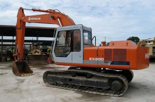 Hitachi EX200-1 Parts Service Repair Workshop Manual DOWNLOAD ...