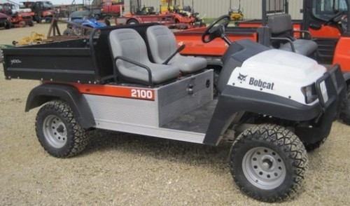 Bobcat 2100 2100S Workmate Utility Vehicle Service Repair Workshop Manual DOWNLOAD ( S/N 522711001 & Above, S/N 524411001 & Above )