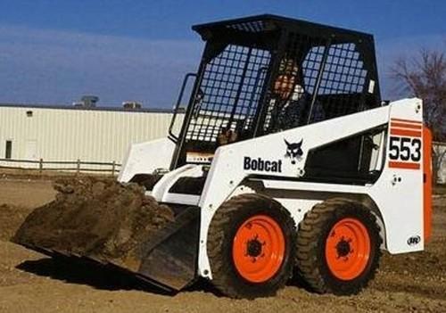 Bobcat 553 Skid Steer Loader Service Repair Workshop Manual DOWNLOAD( S/N 520311001 & Above, S/N 520411001 & Above )