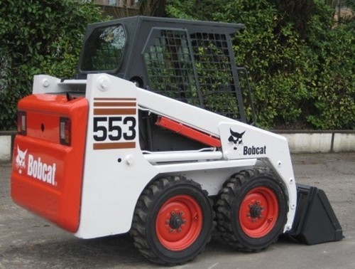 Bobcat 553 Skid Steer Loader Service Repair Workshop Manual DOWNLOAD(S/N 520311001 & Above, S/N 520411001 & Above)