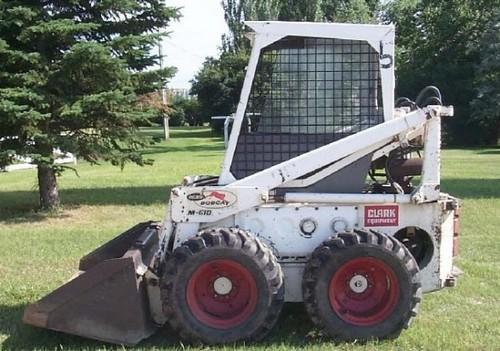 Bobcat 600, 600D, 610, 611 Skid Steer Loader Service Repair Workshop ...