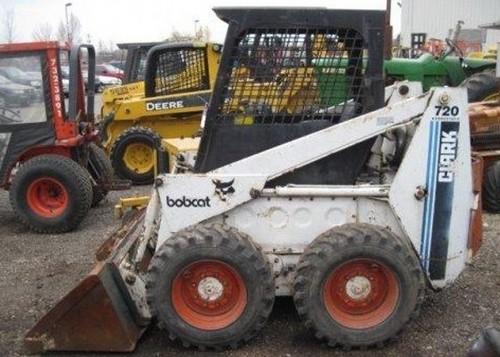Bobcat 700, 720, 721, 722 Skid Steer Loader Service Repair