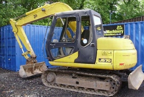 Pay for JCB JS70 Tracked Excavator Service Repair Workshop Manual DOWNLOAD