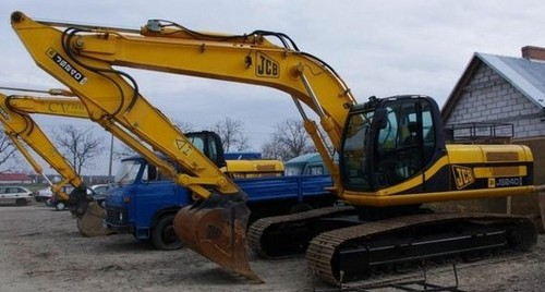 JCB JS200LC JS240LC JS300LC JS450LC Tracked Excavator Service Repair ...