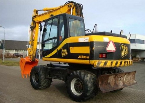 Pay for JCB JS130W JS150W Wheeled Excavator Service Repair Workshop Manual DOWNLOAD